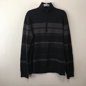 Banana Republic Lambswool Cashmere Striped Sweater